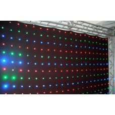 Cortina de Led DMX 3 X 4 - 4 LED