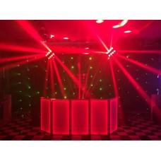 Cabine de DJ 100X50 Branco