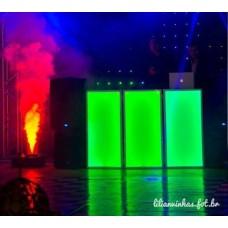 Cabine de DJ 100X50 Preto