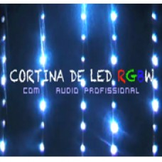 Cortina de Led RGBW  3 X 5 Audio