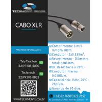 Cabo XLR 5 m