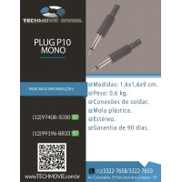Plug P 10 Mono