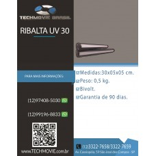 Ribalta UV 30cm 500w