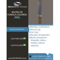 Bastão De Fumaça Colorida Azul 30 segundos