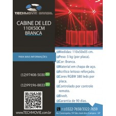 Cabine de DJ 110X50 Branco