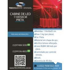 Cabine de DJ 110X50 Preto