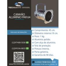 Canhão Alumínio Par 64
