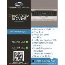 Chaveadora 10 canais
