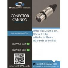 Conector Cannon