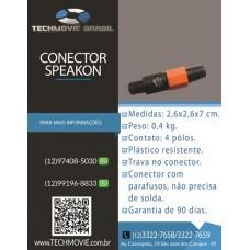 Conector Speakon