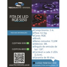 Fita de Led RGB 5050