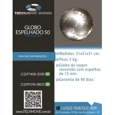 Globo Espelhado 50 CM
