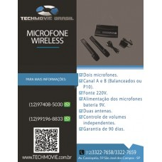 Microfone wireless