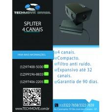 Spliter 4 Canais