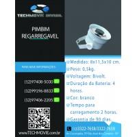 Pimbim 5W Recarregável - Branco