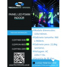 Painel led P5mm indoor