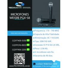 Microfone Weisre PGX-58