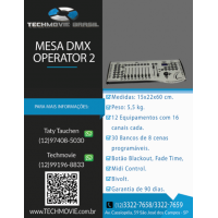Mesa DMX Operator 2