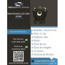 Mini Moving led 20w RGBW
