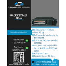 Rack Dimmer 4 KVA