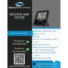 Refletor 100w Led RGB