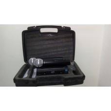 Microfone Bastão Duplo