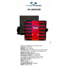 Painel de LED P4  (Sob consulta)