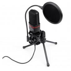 Microfone Streamer Gamer Redragon